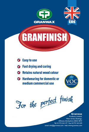 Granfinish - Fast Curing