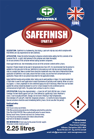 Safefinish - Fast Curing